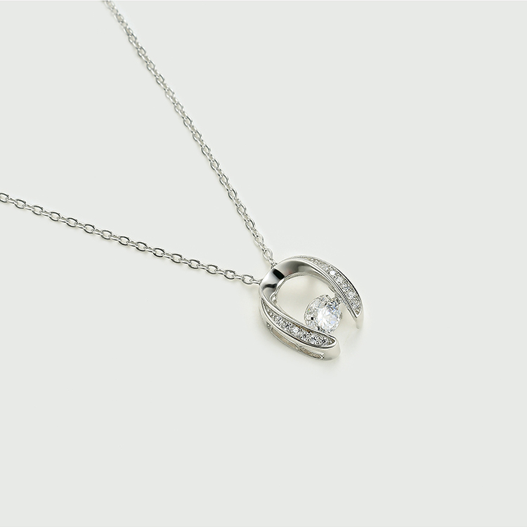 S925 sterling alloy smart necklace - lucky early summer NHKSE28705