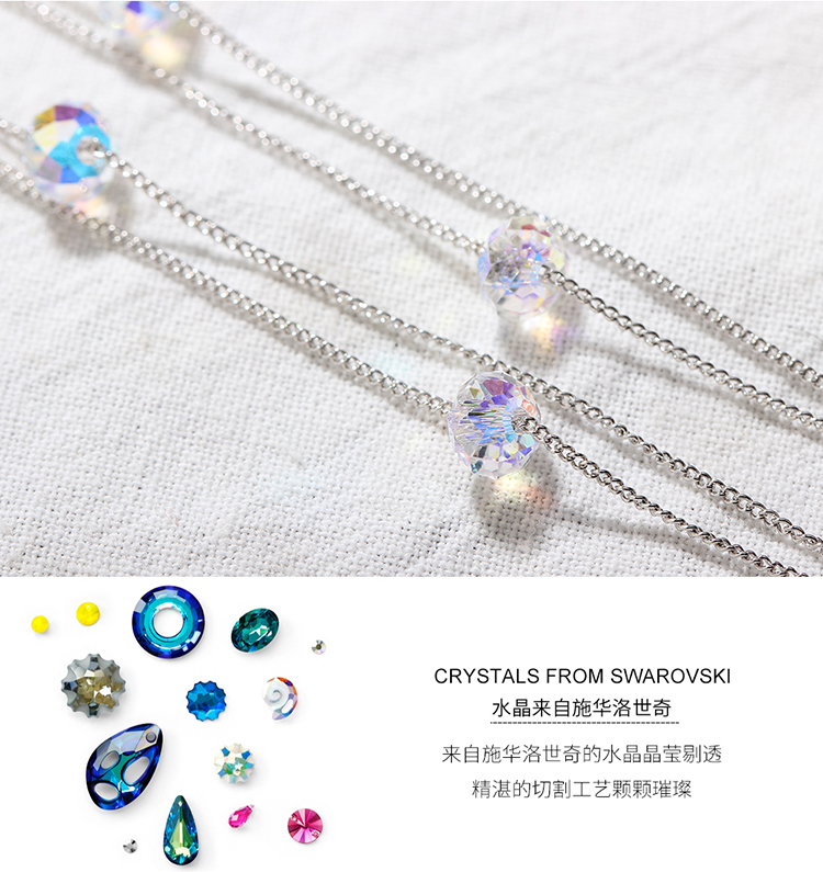 Austrian imitated crystal anklet - the envy of envy NHKSE28938