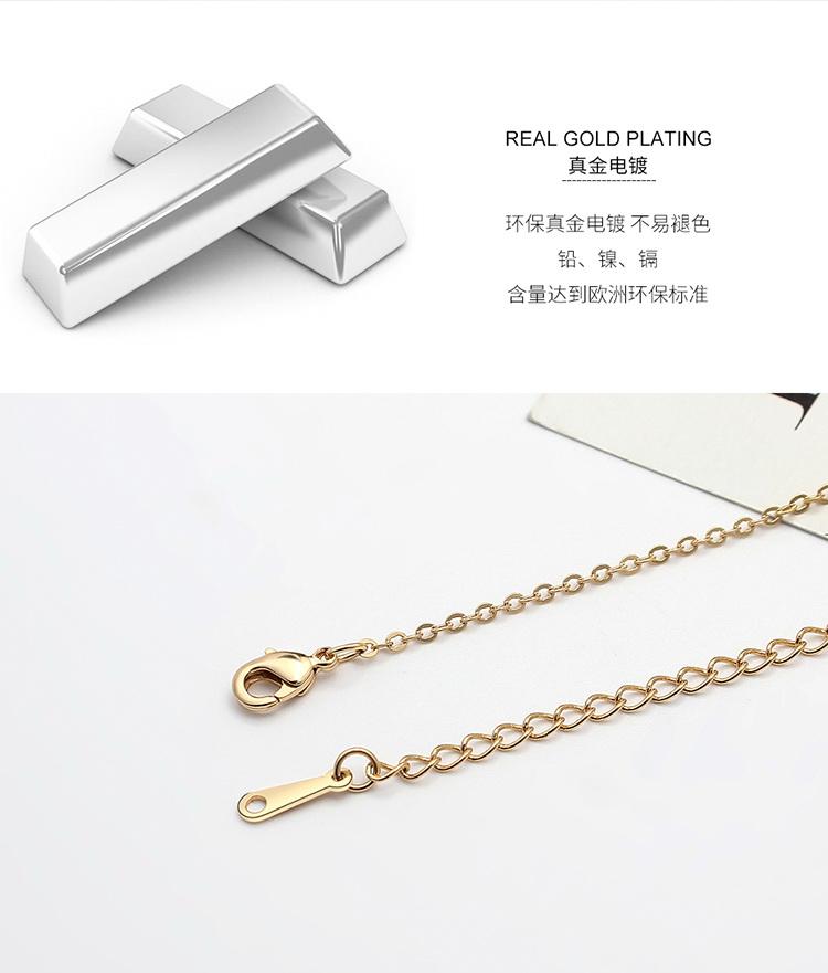 Collier en cristal imit import  Phonologie Platine + Couleur Blanc NHKSE29340