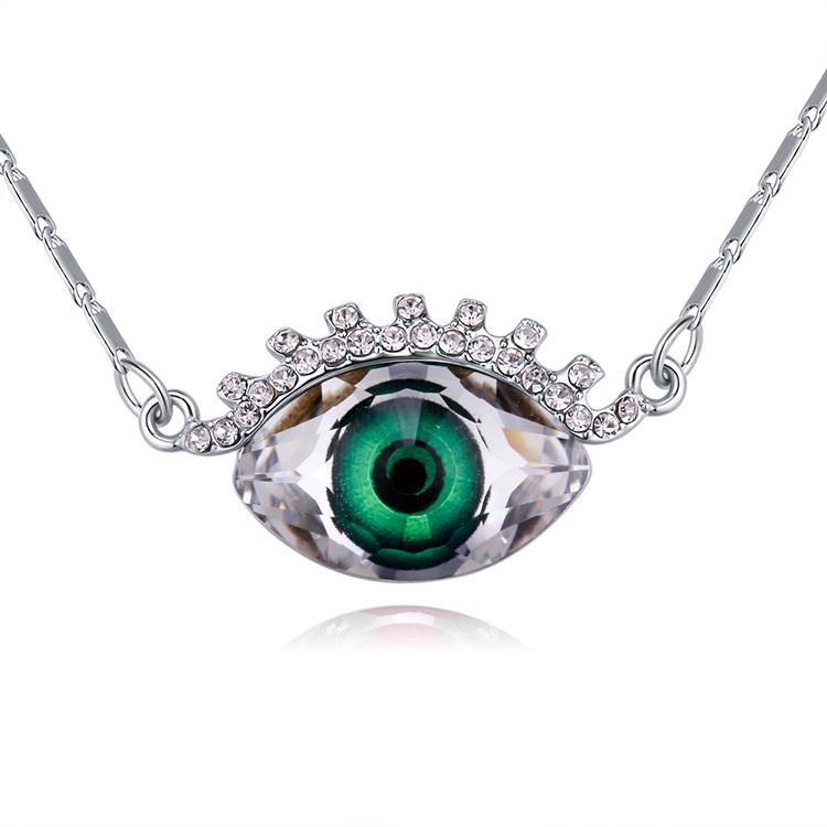 Austrian Imitated crystal Necklace  Hyun Green NHKSE29343