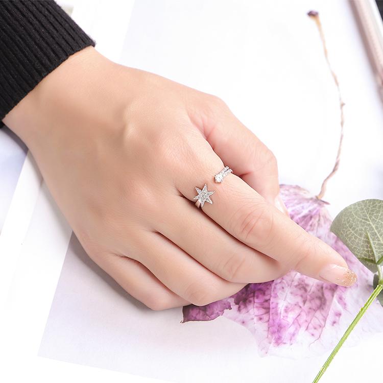 Alloy RingFlower Flower Language Rose Alloy Fashion Jewelry NHKSE299917