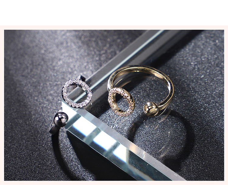 Alloy Ring  Marriage Wood Platinum Fashion Jewelry NHKSE300007