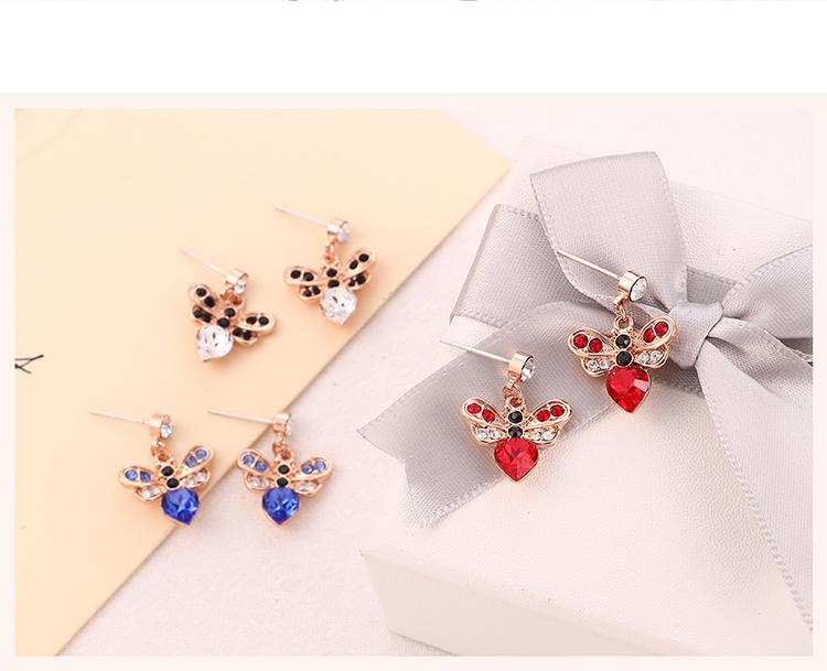 Imitated crystal Set--Fangxin Love (White)  NHKSE30352