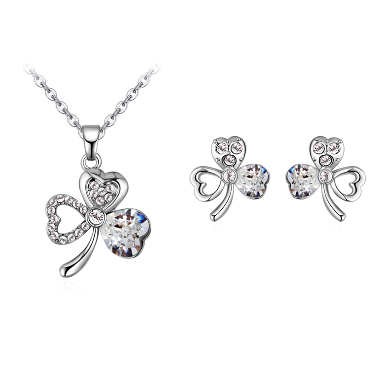 Imitated crystal Set - Lucky Forever (White)  NHKSE30365