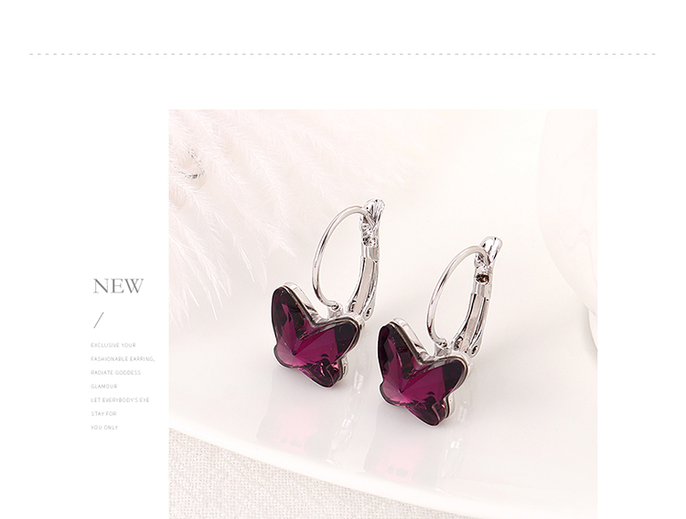 Imitated crystal Earring Fashion NHSE200543