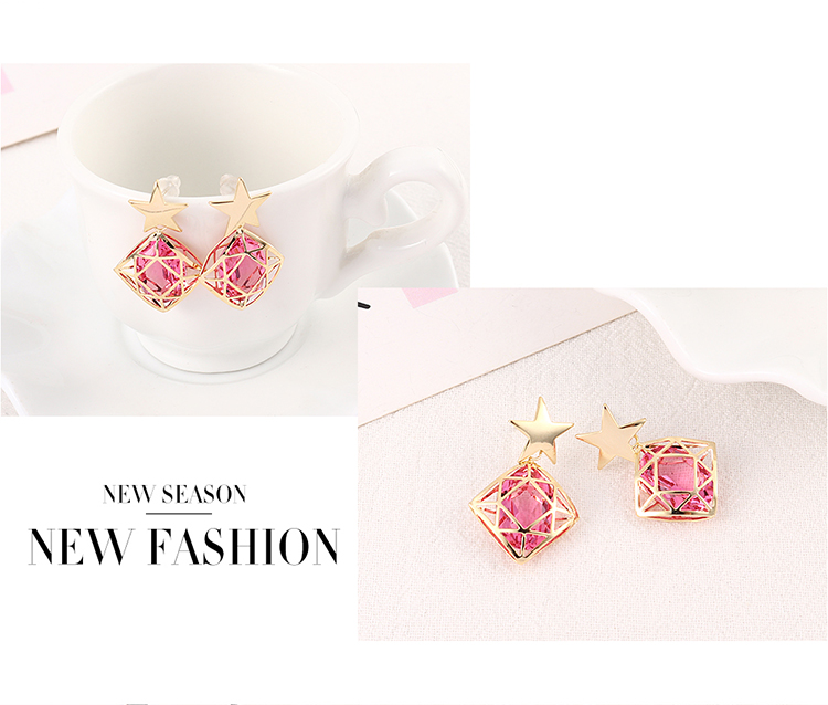 Imitated crystal Earring Fashion NHSE200537