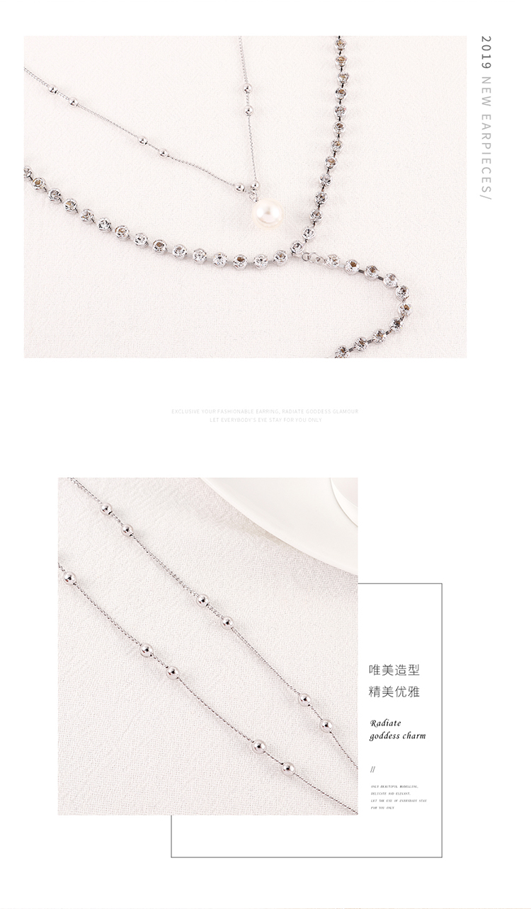 Imitated crystal Necklace Fashion NHSE200509