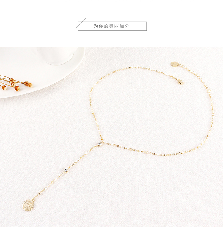 Imitated crystal Necklace Fashion NHSE200481