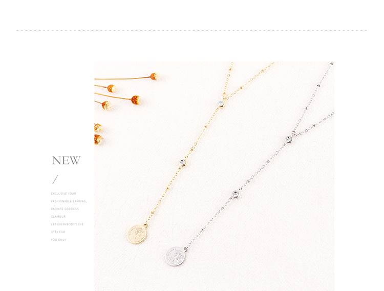 Imitated crystal Necklace Fashion NHSE200480