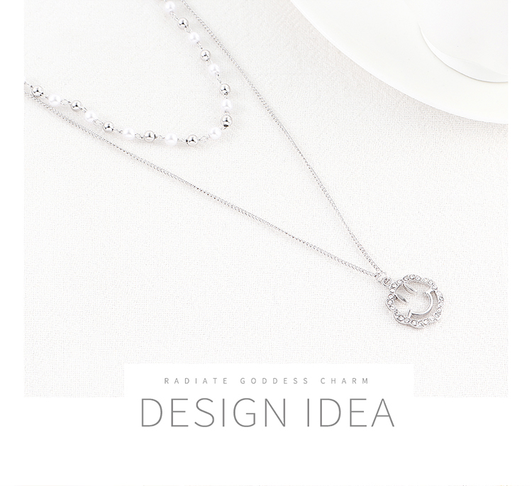 Imitated crystal Necklace Fashion NHSE200448