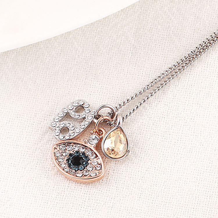 Imitated crystal Necklace Fashion NHSE200427