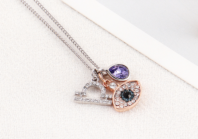 Imitated crystal Necklace Fashion NHSE200421