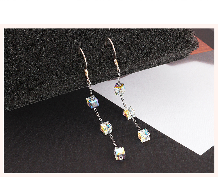 Imitated crystal Earring Fashion NHSE200415