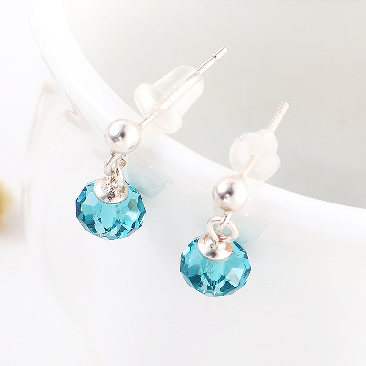 Imitated crystal Earring Fashion NHSE200406
