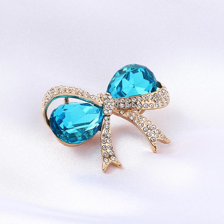 Imitated crystal Brooch Fashion NHSE200336