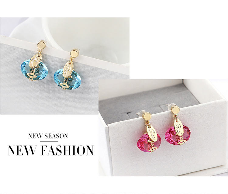 Imitated crystal Earring Fashion NHSE200298