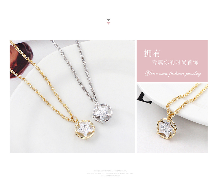 Copper Necklace Fashion NHSE200266