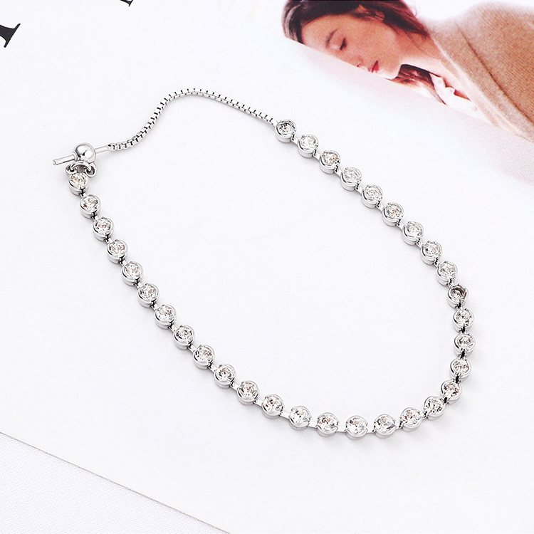 Imitated crystal Bracelet Fashion NHSE200259