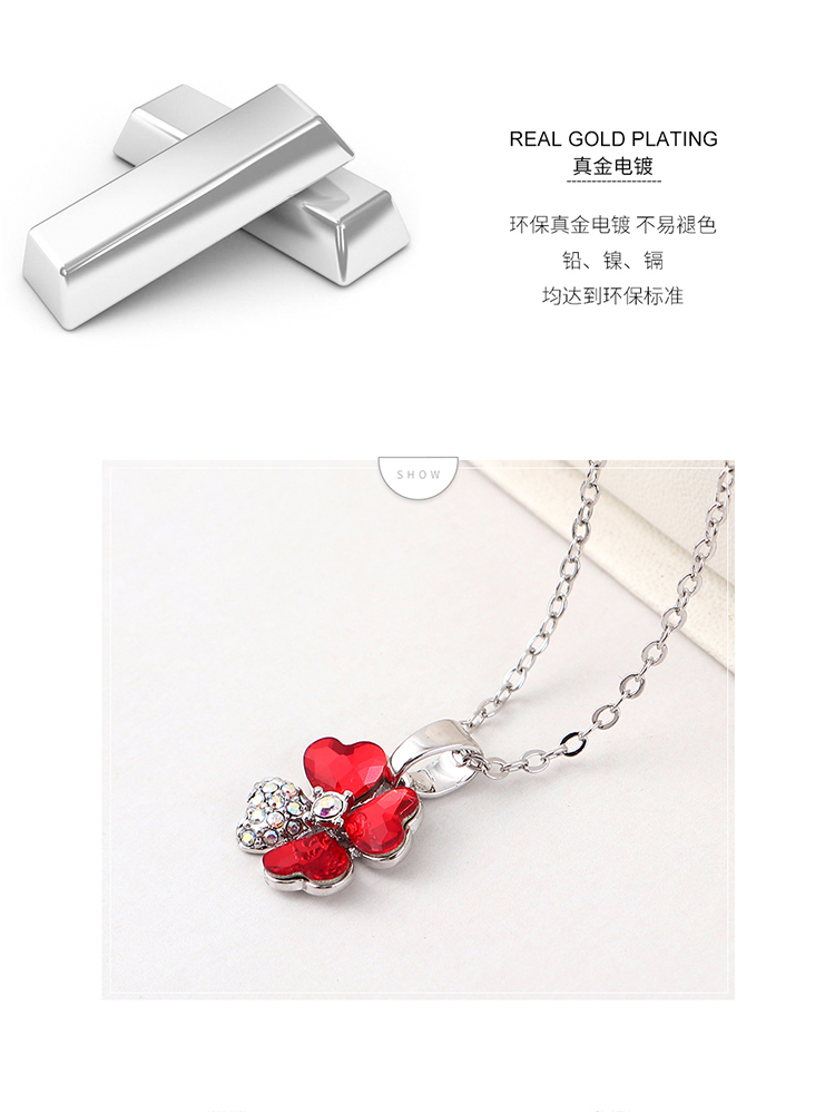 Crystal Necklace Fashion NHSE383254
