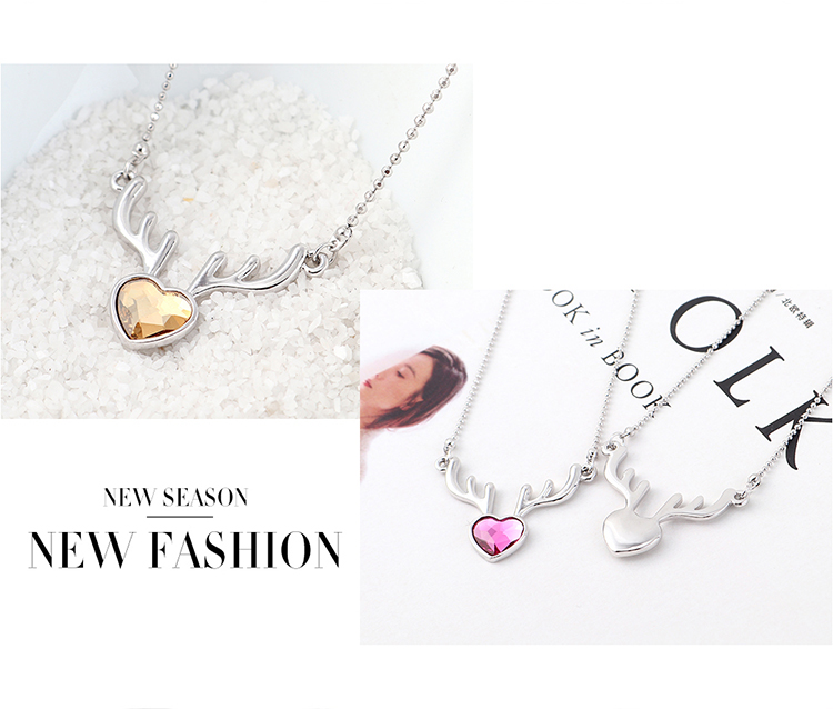 Crystal Necklace Fashion NHSE383250