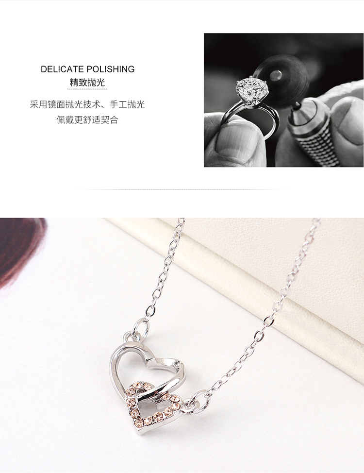 Crystal Necklace Fashion NHSE383236