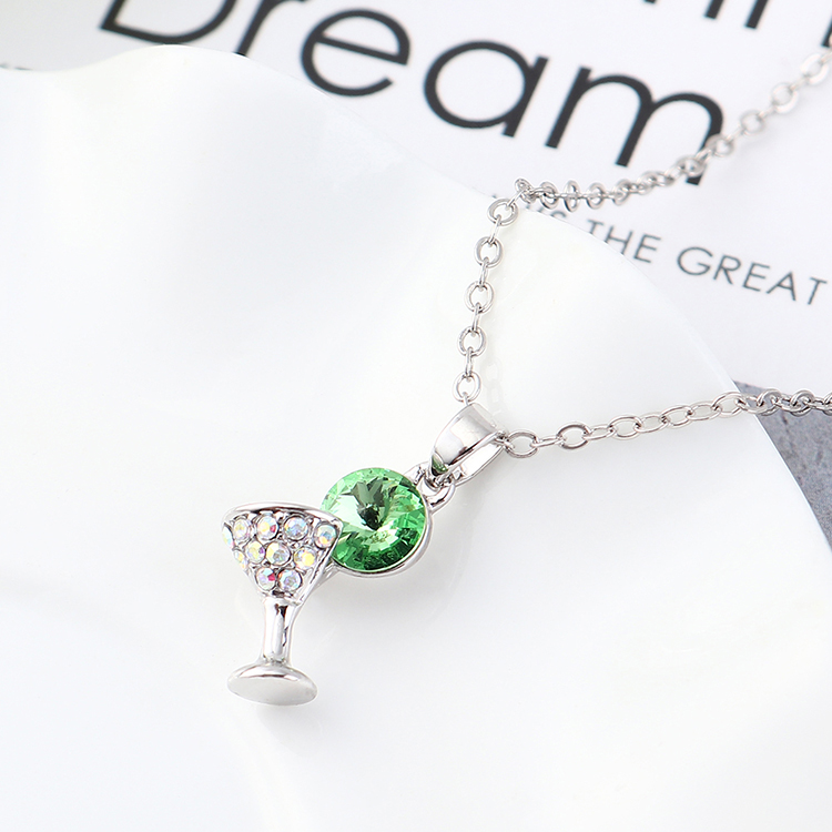 Crystal Necklace Fashion NHSE383209