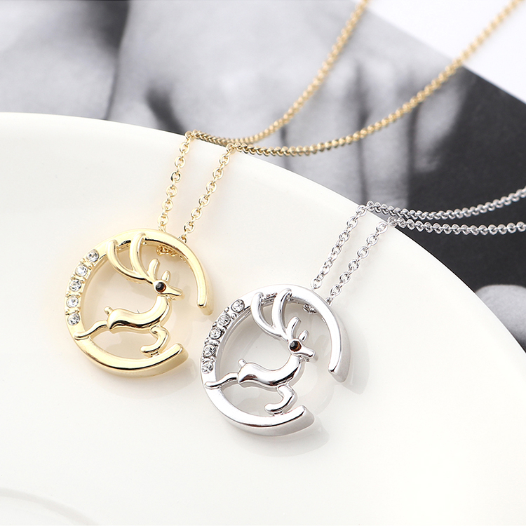 Crystal Necklace Fashion NHSE383181