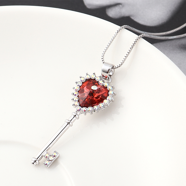 Crystal Necklace Fashion NHSE383026