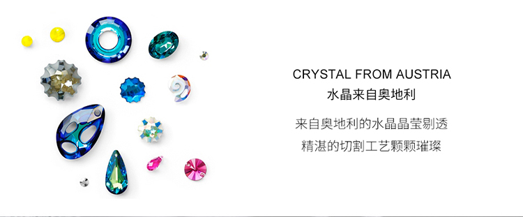 Crystal Earring Fashion NHSE383016