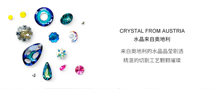 Crystal Necklace Fashion NHSE383095