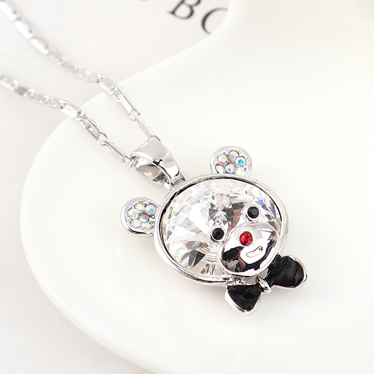 Crystal Necklace Fashion NHSE383157