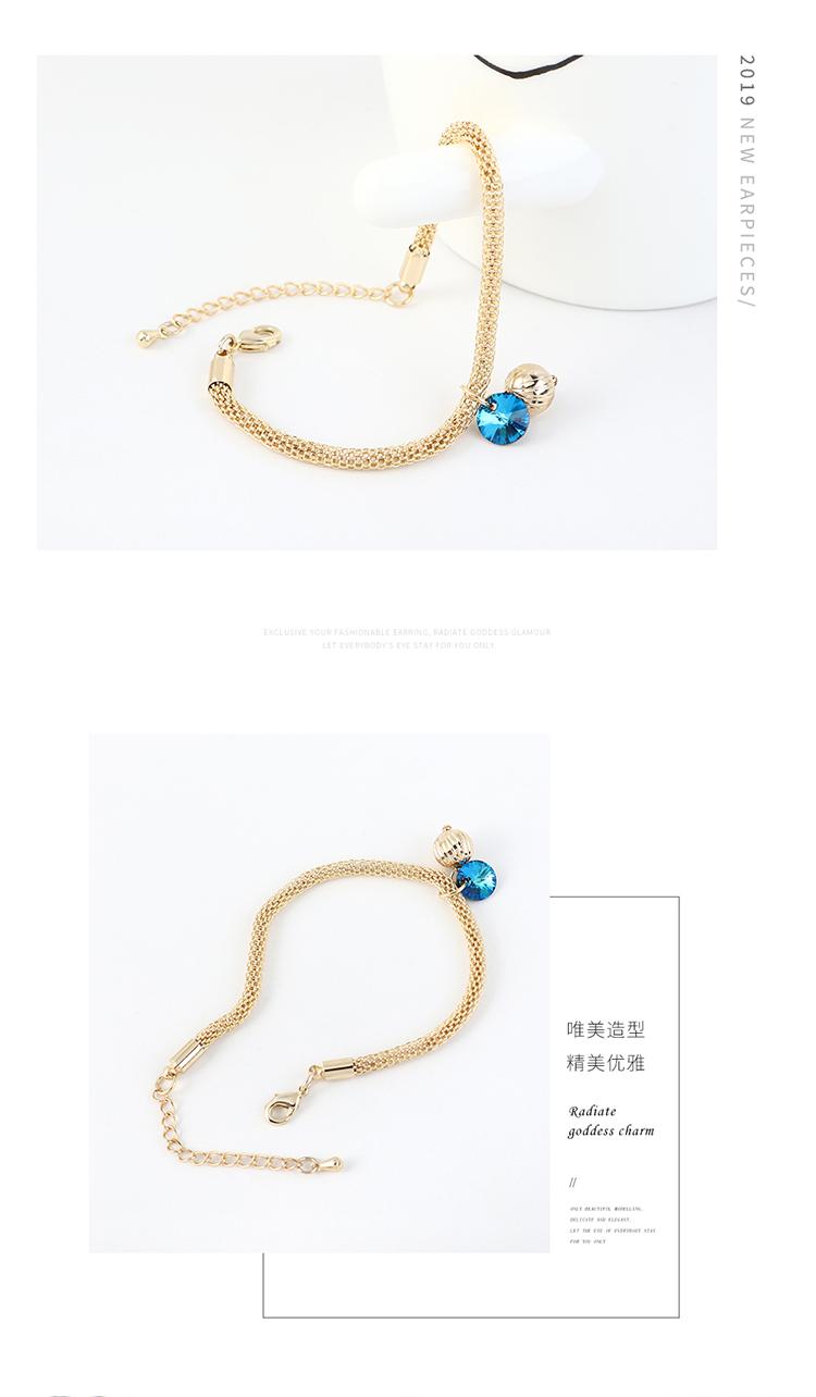 New Fashion Crystal Lantern Bracelet Wholesale NHSE203869